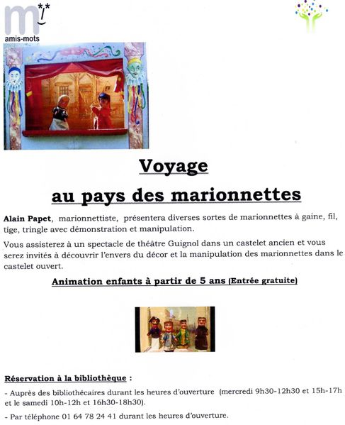Tract Montigny marionnettes Janvier 2013