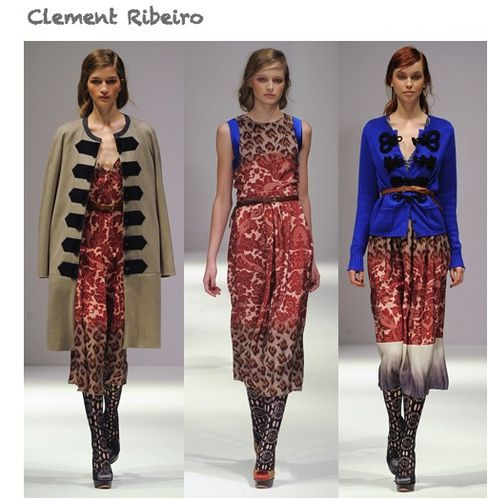 fashion ballyhoo - clement ribeiro fall2011 fashion week