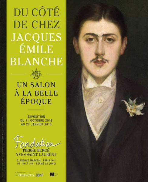 Du côté de chez Jacques-Émile Blanche, un salon à la Belle Époque à la Fondation Pierre Bergé - Yves Saint Laurent à Paris du 11 octobre au 27 janvier 2012