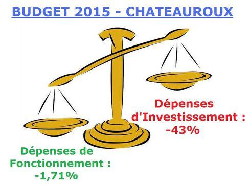 Budget 2015 Châteauroux