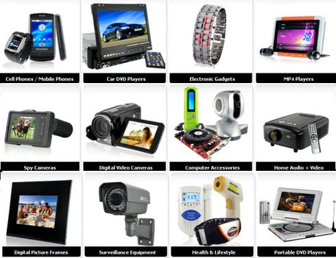 ... Wholesale electronics appeared as an E-business for electronic