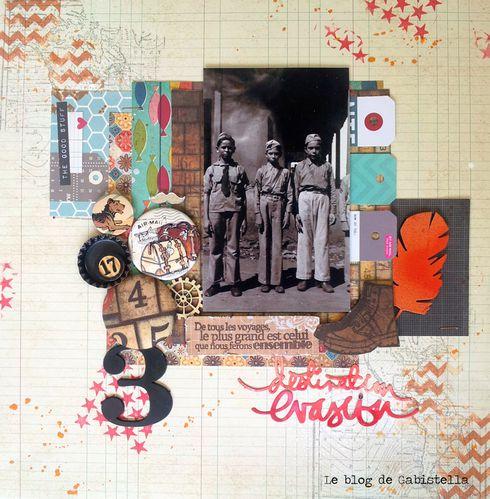 Gabistella page vintage boy scouts1930N2cw