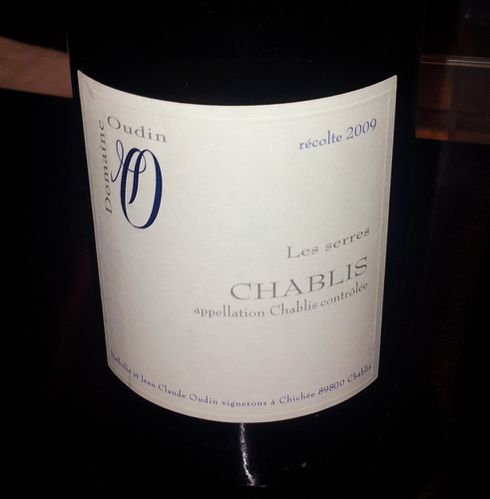 table ronde banctel vin chablis