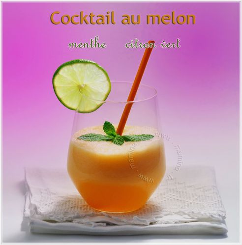 COCKTAIL MELONTAG ENCADRE