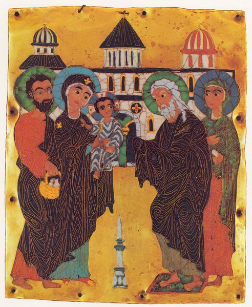 Presentation at the Temple (Georgia, 12th c.)