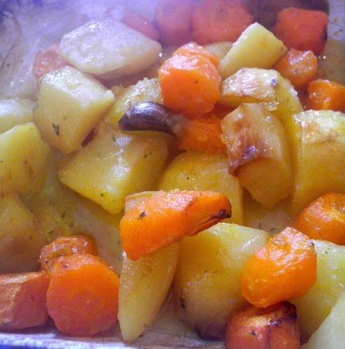 pommes de terre rôties faciles