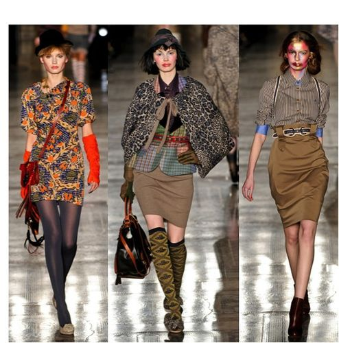 fashion ballyhoo - vivienne westwood red label 2 fall2011 f