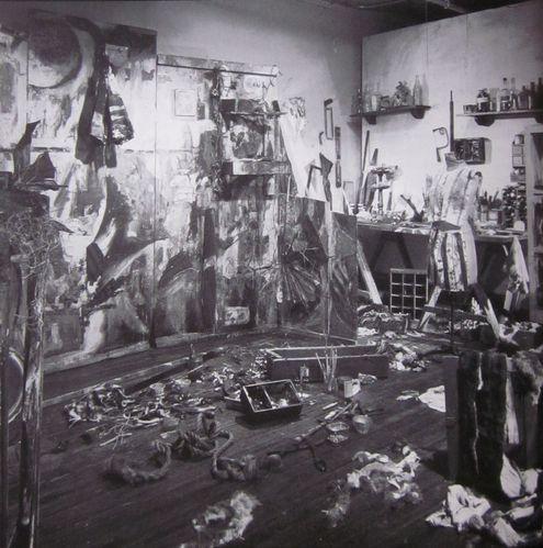 Schneemann C. Four Fur Cutting Boards 1963 (reconstitution