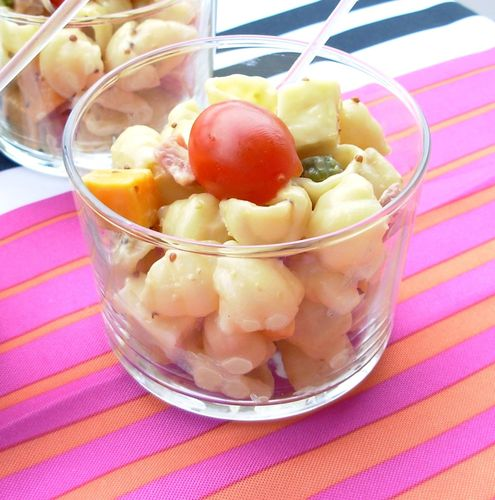Salade de pâtes parisienne en verrine4