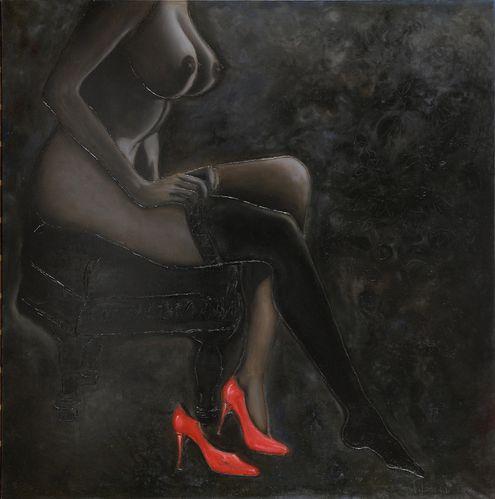 Tableau2 de l'artiste-peintre Filomena Salley