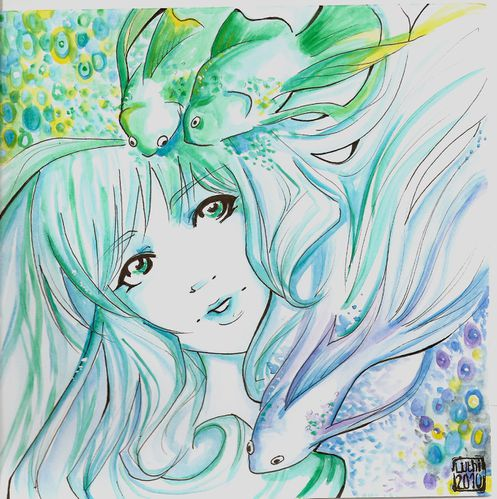 blue&greenfishes