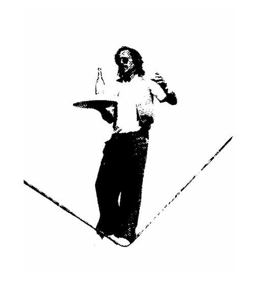 équilibre sur corde