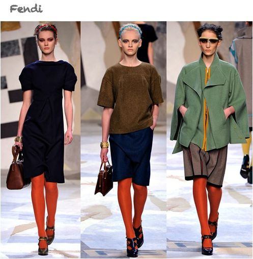 fashion ballyhoo - Fendi fall2011 fashion week