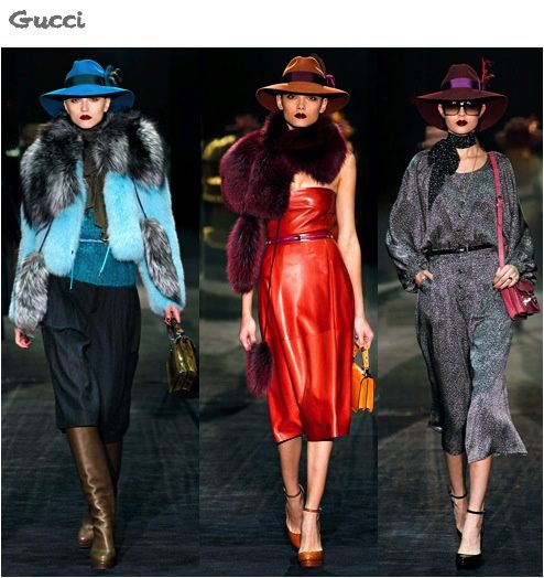 fashion ballyhoo - Gucci fall2011 fashion week