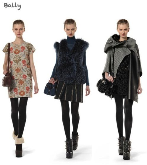 fashion ballyhoo - Bally fall2011 fashion week