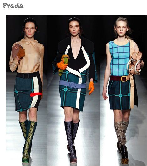 fashion ballyhoo - Prada fall2011 fashion week