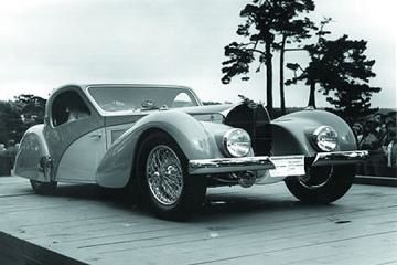 Pebble Beach 1976 Bugatti Type 57SC Atalante 1937