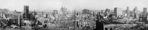San Francisco aprés tremblement de terre de 1906