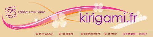 Site Kirigami-fr