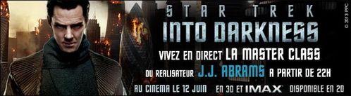 [info] Star Trek into darkness : masterclass de J.J. Abrams