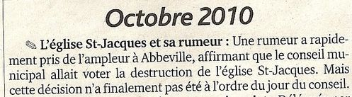 article J.Abbeville du 5 1 2011 Octobre 2010