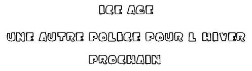 Police Ice age