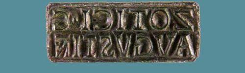 924c4a sceau de bronze, époque impériale