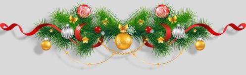 Deco Bandeau Bas Noel 2014 Gites les Vaquans Aveyron