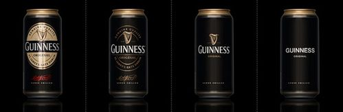 packaging minimaliste Guiness