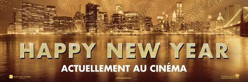 Happy New Year bandeau