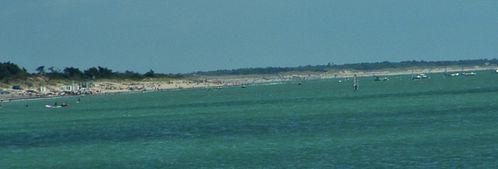 la plage des golandières