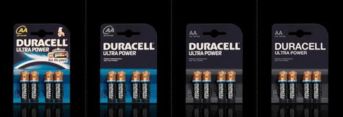 packaging minimalist Duracell