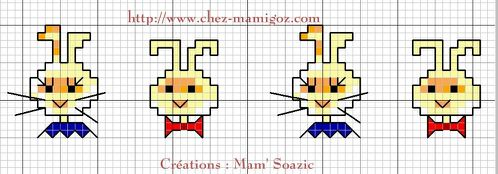 Bande a broder lapins-Mamigoz