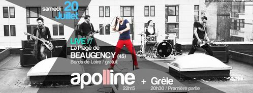beaugency apoline grêle affiche