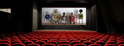 robots at theater