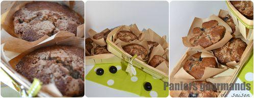 muffins aux cerises'