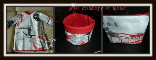 MCAM tablier+pot+pochette