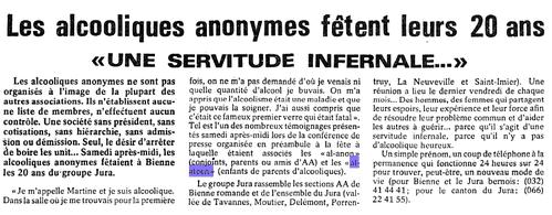 HISTOIRE 1058 l express neuchâtel 19 11 1980
