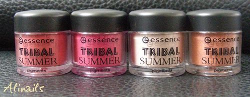 Essence, trend edition, Tribal Summer pigments