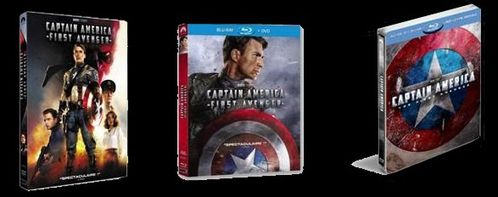 CAPTAIN AMERICA DVD