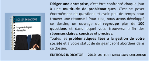 indicator guide du dirigeant