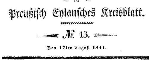 Deckblatt 1841