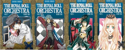 the royal doll orchestra tome 2 à 5