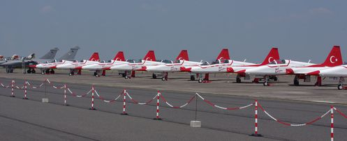 meeting Cambrai 2010 Northrop F-5 Turkish star line