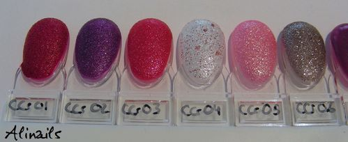 Catrice 2014 Crushed Cristal swatches