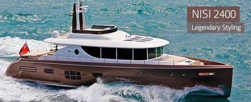 yacht bateau a moteur Nisi 2400