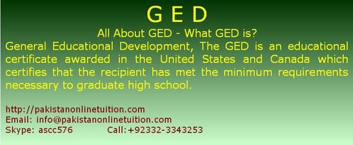 how to get a ged online in canada