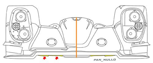 Toyota ts040 Front LOW