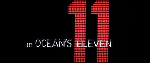 [critique] Ocean's Eleven : Clooney + Bellagio = la classe absolue
