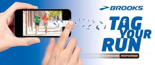 Tag Your Run. Nasce una nuova iniziativa di Idea Brooks Running. Chi si prenota riceverà un omaggio Brooks